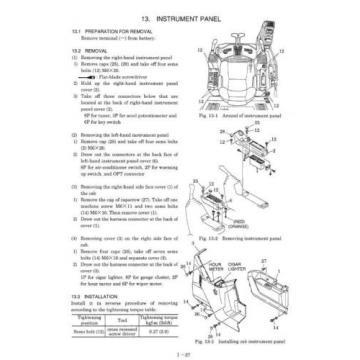 KOBELCO SK220, SK220LC (3) EXCAVATOR  SERVICE AND REPAIR MANUAL