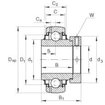 Bearing export GNE60-KRR-B  INA
