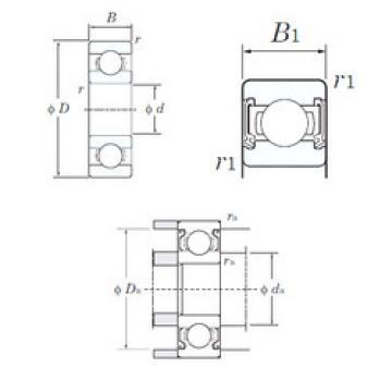 Bearing Original Brand W689-2RD  KOYO