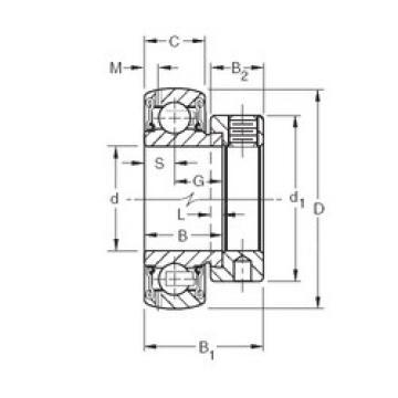 Bearing export GRA008RRB  Timken