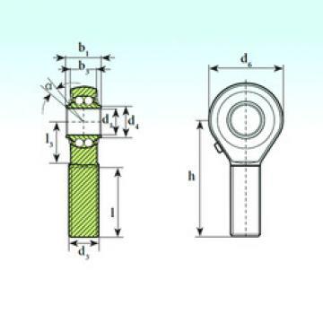 Self-Aligning Ball Bearings TSM 14 BB ISB