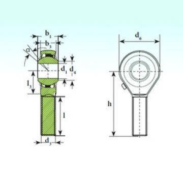 Self-Aligning Ball Bearings TSM 14 BB-O ISB