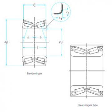 Nsk Bearing Drawing