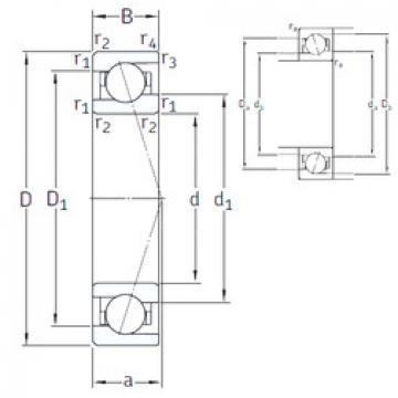 angular contact ball bearing installation VEB 10 /NS 7CE1 SNFA