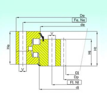 thrust ball images bearings ZR3.20.1600.400-1SPPN ISB