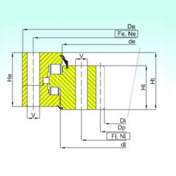 thrust ball images bearings ZR3.32.2500.400-1SPPN ISB