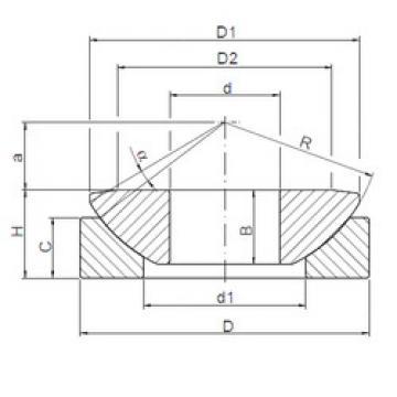 plain bushings bearings GW 040 ISO