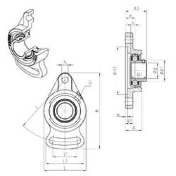 Bearing housed units USFAE206 SNR