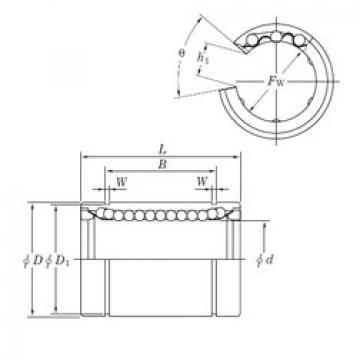 linear bearing shaft SESDM40 OP KOYO