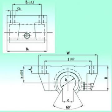 linear bearing shaft TBR 20 NBS