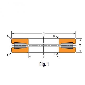 TTHD THRUST ROLLER BEARINGS T7519