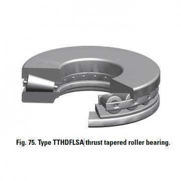 TTHDFLSA THRUST TAPERED ROLLER BEARINGS B–8750–G