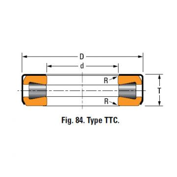 TYPES TTC, TTCS AND TTCL  TAPERED ROLLER BEARINGS T163X