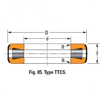 TYPES TTC, TTCS AND TTCL  TAPERED ROLLER BEARINGS T163
