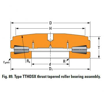 SCREWDOWN BEARINGS – TYPES TTHDSX/SV AND TTHDFLSX/SV A-6639-A