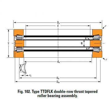 THRUST ROLLER BEARING TYPES TTDWK AND TTDFLK T12100F Thrust Race Double