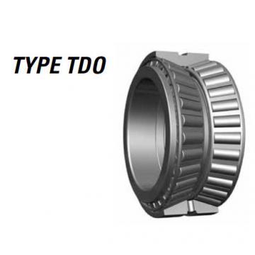 TDO Type roller bearing LM451349 LM451310CD