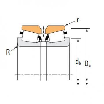 TDO Type roller bearing 42346 42587D