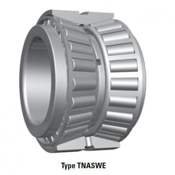 Tapered Roller Bearings double-row TNASWE NA15117SW 15251D