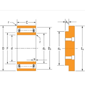 Heavy-duty needle roller bearings Ta4028v