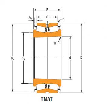 TdiT TnaT two-row tapered roller Bearings lm247747Td lm247710