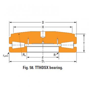 screwdown systems thrust tapered bearings T9030fs-T9030sa