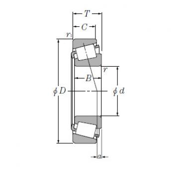 Single Row Tapered Roller Bearings NTN M255449/M255410A