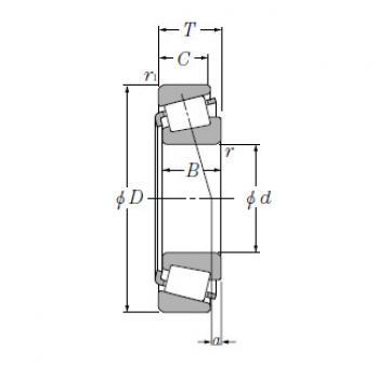 Single Row Tapered Roller Bearings NTN T-EE134100/134143