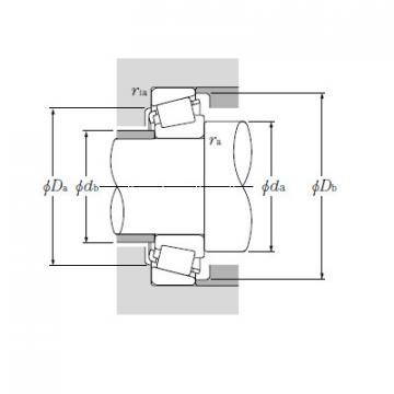 Single Row Tapered Roller Bearings NTN EE755280/755360G2