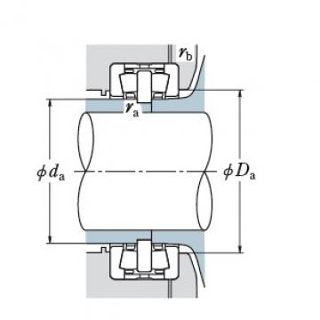 DOUBLE ROW TAPERED ROLLER BEARINGS JAPAN BRAND 150KDH3201A+K