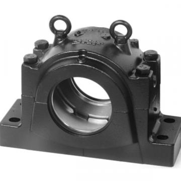 SKF SSAFS 22516 TLC SAF and SAW pillow blocks with bearings on an adapter sleeve