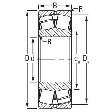 Timken TAPERED ROLLER BEARINGS 23068EJW25W507C08C3