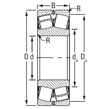 Timken TAPERED ROLLER 23264EJW507C08C2