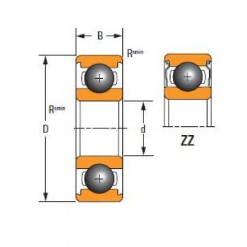 Timken DEEP GROOVE BALL BEARINGS 61912-ZZ-C3