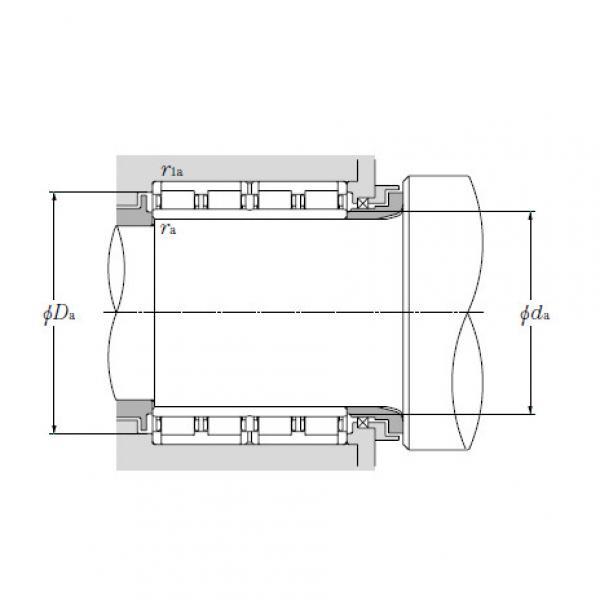 Four Row Cylindrical Roller Bearings NTN 4R13603 #4 image