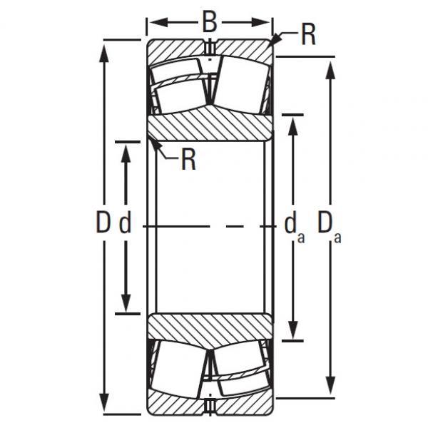 Timken TAPERED ROLLER 23264KEJW507C08C3     #5 image