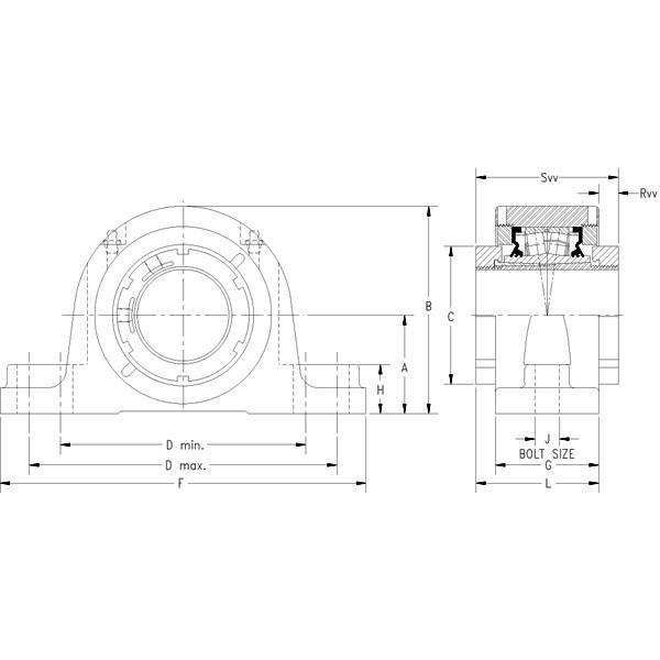 Timken TAPERED ROLLER QVVSN28V500S     #5 image